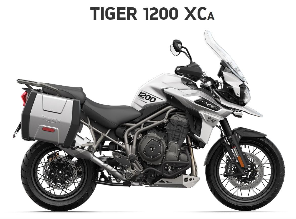 Triumph Tiger 1200 XCA  Farba: biela  Stav km: 0  Cenníková cena motocykla vrátane doplnkov:20 830,-€. Akciová cena vrátane doplnkov: 19 595,-€. Doplnky v hodnote 1235 ,- € v cene motocykla. Ponuka sa vzťahuje…