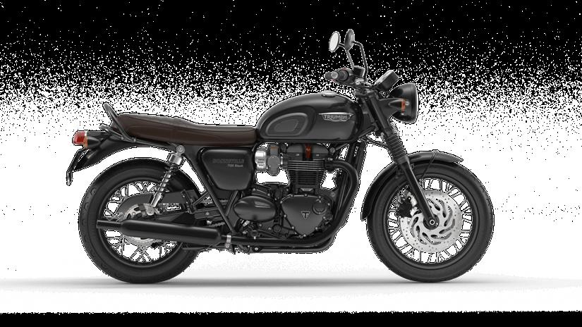 Triumph Bonneville T120 Black  Farba: čierna  Stav km: 0  Cenníková cena 12 078,- € pri financovaní cez ČSOB leasing alebo úver 11 240,- €  Akciová cena pri platbe vhotovosti 11 470,- €  Pri kúpe motocykla…