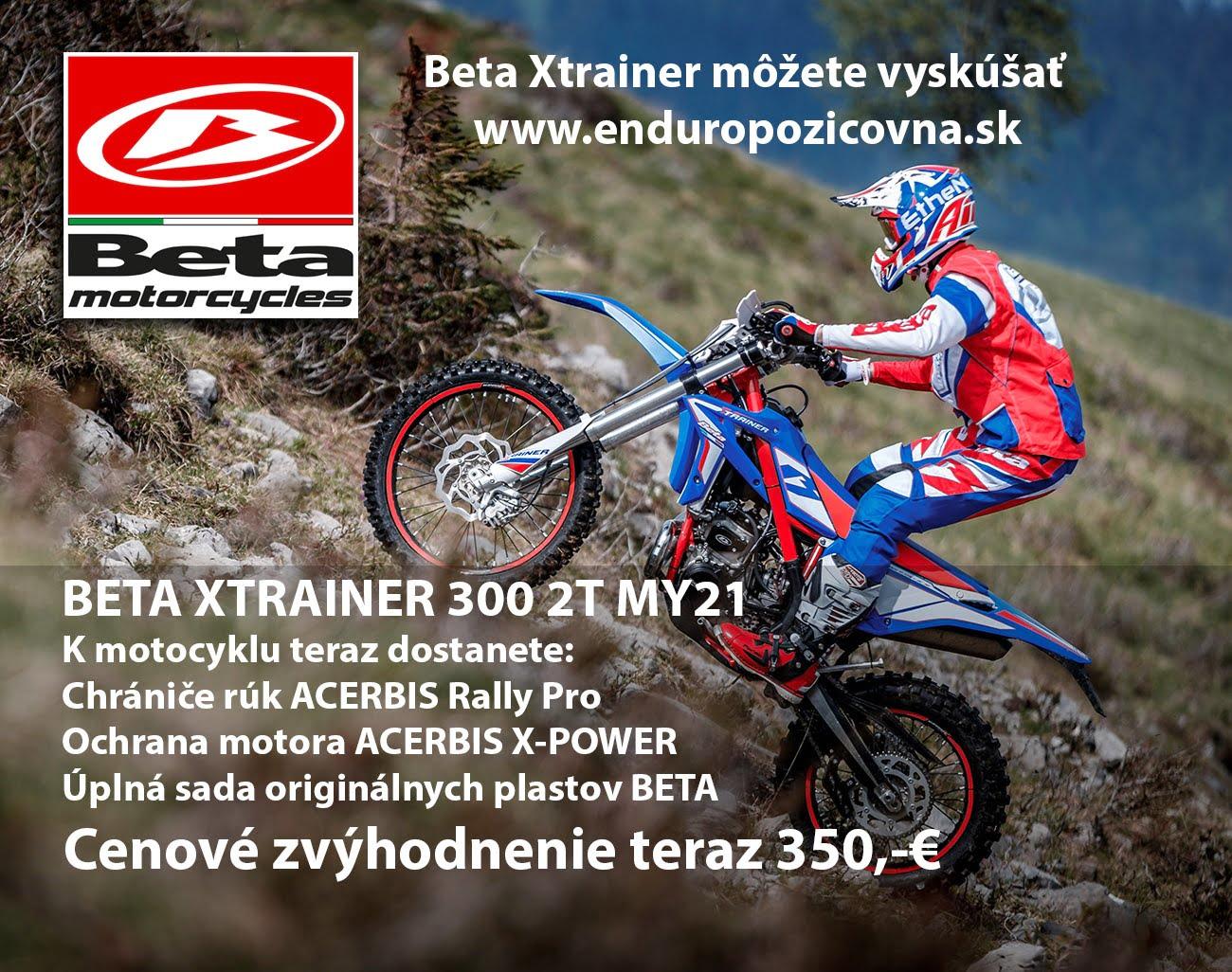 Teraz v cene motocykla (ponuka je časovo obmedzená do 31.8.2020 a vzťahuje sa len na skladové motocykle): Chrániče rúk Acerbis Rally Pro  +  Ochrana motora Acerbis X-Power +  Úplná sada…